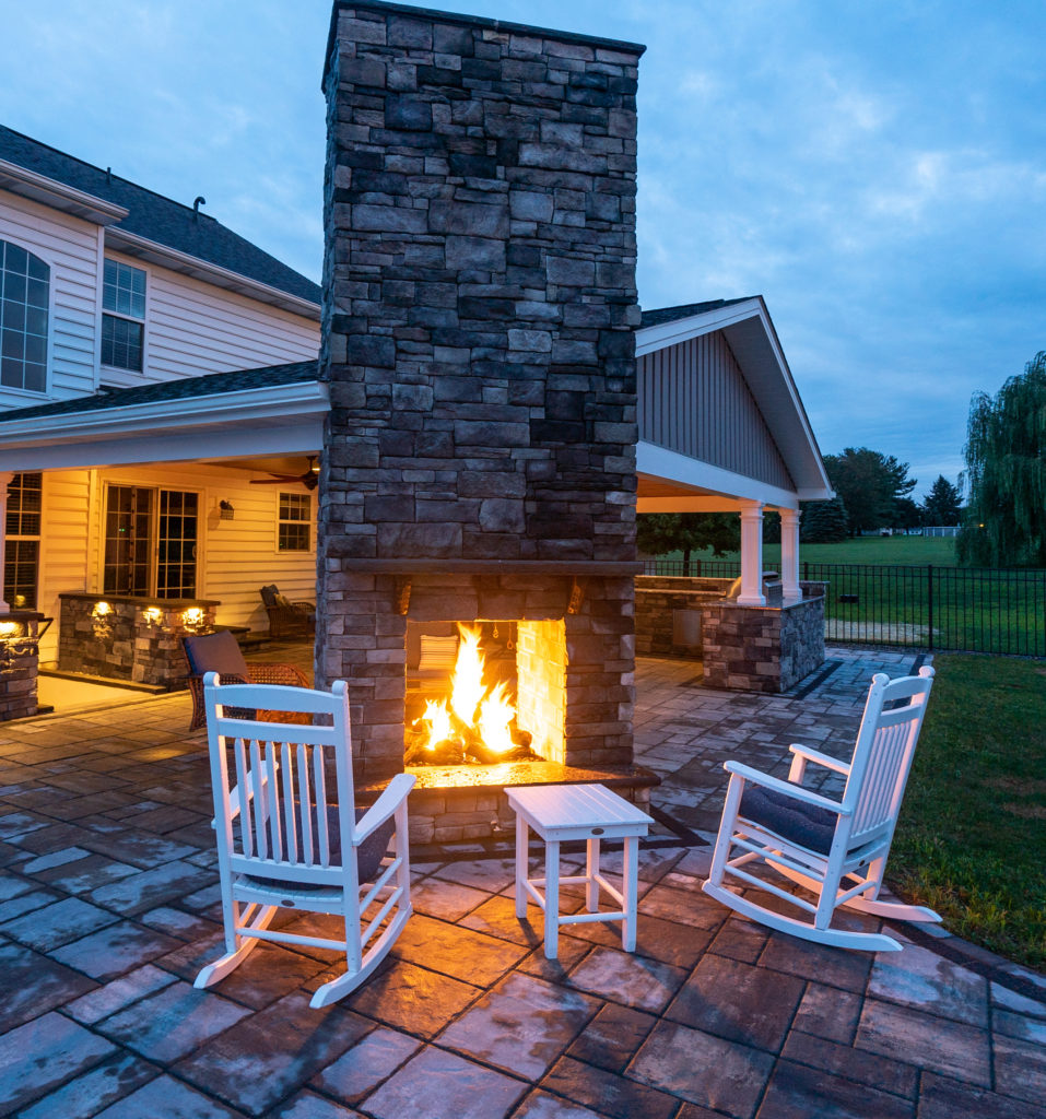 Outdoor Fire Place Lancaster Pa Hosler S Homescapes