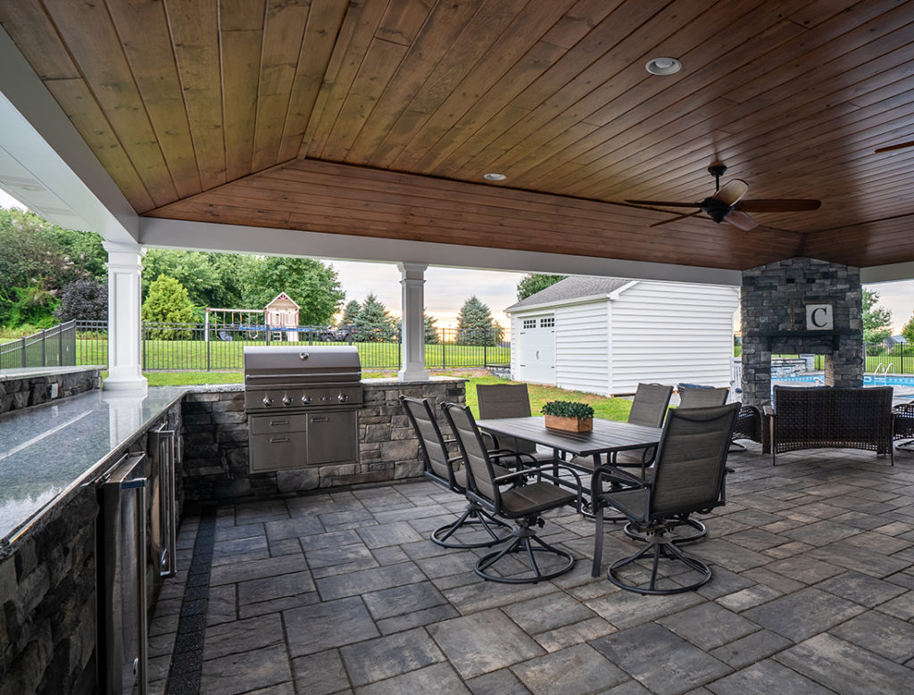 Outdoor Kitchens Lancaster Pa Hosler S Homescapes