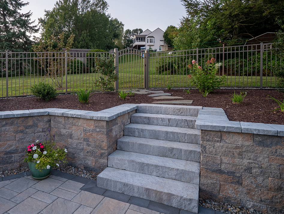 stone staircase outdoors
